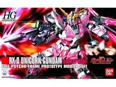 Bandai - HGUC Gundam Unicorn RX-0 Unicorn Gundam (Destroy Mode), Mastelis: 1/144, 57399