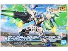 Bandai - HG Build Divers:R Gundam OO Sky Moebius Rize's Mobile Suit, Scale: 1/144, 60758