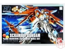 Bandai - HG Build Fighters Try Scramble Gundam Yajima Engineering Custom Made Mobile Suit, Scale: 1/144, 07605
