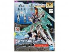 Bandai - HG Build Divers:R Fake ν Unit Alus's Support Unit, 1/144, 60246