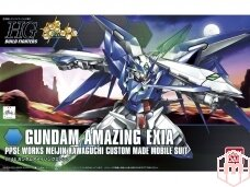 Bandai - HG Build Fighters Gundam Amazing Exia, Mastelis: 1/144, 92077