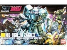 Bandai - HGUC MSV MS-06R-1A ZAKU II Principality of Zeon S.Matsunaga's Customize Mobile Suit, 1/144, 57749