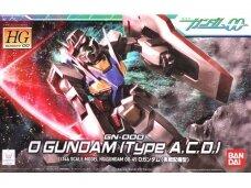 Bandai - HG Gundam 00 GN-000 0 Gundam (Type A.C.D.), Scale: 1/144, 55732