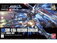 Bandai - HG Cosmic Era ZGMF-X10A Freedom Gundam Z.A.F.T. Mobile suit, 57404