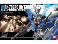 Bandai - HGUC RX-78GP01Fb Gundam GP01Fb, Mastelis: 1/144, 78213