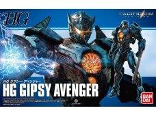 Bandai - HG Gipsy Avenger (Pacific Rim), Mastelis: 1/144, 24497