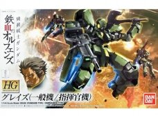 Bandai - HG Graze (Standard Type/Commander Type) Iron-Blooded Orphans, Scale: 1/144, 60382