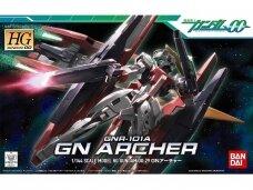 Bandai - HG Gundam 00 GNR-101A GN Archer, Scale: 1/144, 57477