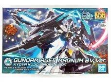 Bandai - HGBD Gundam AGE II Magnum SV Ver., Mastelis: 1/144, 55585