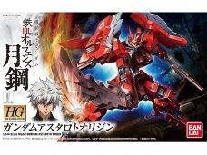 Bandai - HG Gundam Astaroth Origin Iron-Blooded Orphans Steel Moon, Mastelis: 1/144, 55464
