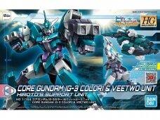 Bandai - HG Build Divers:R Core Gundam (G-3 Color) & Veetwo Unit, Mastelis: 1/144, 58300