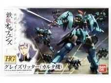 Bandai - HG Carta's Graze Ritter Iron-Blooded Orphans, Scale: 1/144, 58259