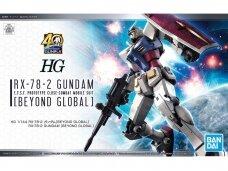 Bandai - HG RX-78-2 Gundam [Beyond Global], Mastelis: 1/144, 58205