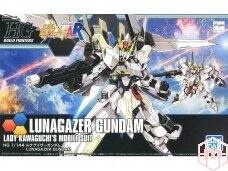 Bandai - HG Build Fighters Lunagazer Gundam, Scale: 1/144, 14477