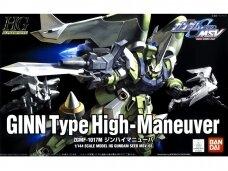 Bandai - HG Gundam Seed MSV ZGMF-1017M Ginn Type High-Maneuver, Mastelis: 1/144, 56811