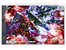 "Bandai - HG Gundam Thunderbolt MS-06R Zaku II High Mobility Type ""Psycho Zaku"", Mastelis: 1/144, 07588"