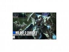 Bandai - HGUC MS-06F-2 Zaku II F2 Principality of Zeon Mass Productive Mobile Suit, 1/144, 57744