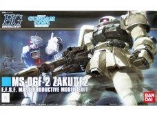 Bandai - HG MS-06F-2 Zaku II Type F2, Scale: 1/144, 57745