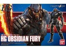 Bandai - HG Obsidian Fury (Pacific Rim), Mastelis: 1/144, 24768