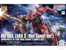 Bandai - HG The Origin MS-06S Zaku II (Red Comet Ver.), Scale: 1/144, 57656