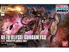 Bandai - HG The Origin MSD RX-78-01[FSD] Gundam FSD, Scale: 1/144, 25730