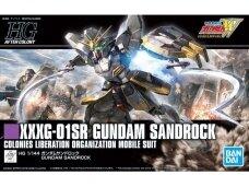 Bandai - HG XXXG-01SR Gundam Sandrock, Mastelis: 1/144, 57844