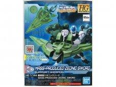 Bandai - HGBD:R Mass Production Zeonic Sword, 1/144, 58826