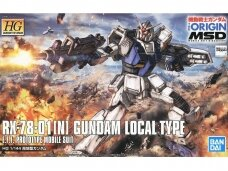 Bandai - HG The Origin MSD RX-78-01 (N) Gundam Local Type , Mastelis: 1/144, 55725
