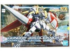 Bandai - HGBD:R Gundam Justice Knight , 1/144, 58203