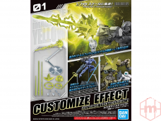 Bandai - Customize Effect (Gunfire Image Ver.) [Yellow], 1/144, 60254