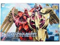 Bandai - HGBD:R Nu-Zeon Gundam, Scale: 1/144, 58220