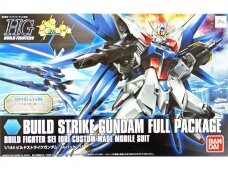 Bandai - HGBF Build Strike Gundam Full Package, Scale: 1/144, 57718