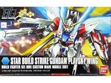 Bandai - HGBF Star Build Strike Gundam Plavsky Wing, Scale: 1/144, 58789