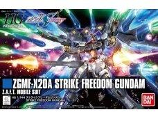 Bandai - HGCE Strike Freedom Gundam, Scale: 1/144, 55610