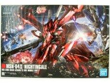 Bandai - HGUC MSN-04II Nightingale Neo Zeon Char Aznable's Use Mobile Suit, 1/144, 61787