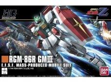 Bandai - HGUC Gundam RGM-86R GM III, Mastelis: 1/144, 55882