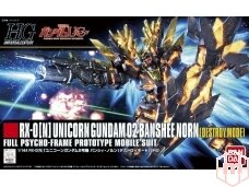 Bandai - HGUC Unicorn Gundam 02 Banshee Norn, Mastelis: 1/144, 89503