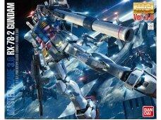 Bandai - MG RX-78-2 Gundam Ver. 3.0 E.F.S.F. Prototype Close-Combat Mobile Suit, 1/100, 61610