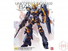 "Bandai - MG RX-0 Unicorn Gundam 02 Banshee ""Ver. Ka"", 1/100, 61593"