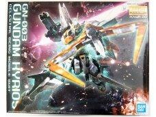 Bandai - MG Gundam OO GN-003 Gundam Kyrios Celestal Being Mobile Suit, Scale: 1/100, 59547