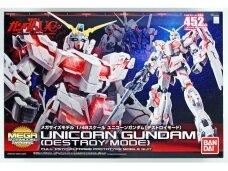 Bandai - MSM Unicorn Gundam (Destroy Mode) Full Psycho-Frame Prototype Mobile Suit, 1/48, 57986