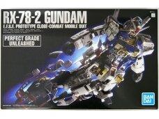 Bandai - PG Unleashed RX-78-2 Gundam E.F.S.F. Prototype Close-combat Mobile Suit, Scale: 1/60, 60765