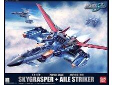 Bandai - PG Sky Grasper + Aile Striker, Scale: 1/60, 34101
