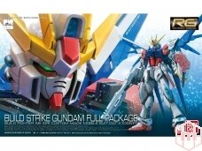 Bandai - RG Build Strike Gundam Full Package, Mastelis:1/144, 10510