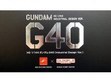 Bandai - HG Gundam G40 (Industrial Design Ver.), Mastelis: 1/144, 58183