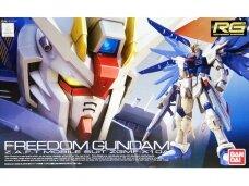 Bandai - RG ZGMF-X10A Freedom Gundam, Mastelis:1/144, 71625