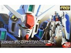 Bandai - RG Gundam GP01 Zephyranthes E.F.S.F. Prototype Multipurpose Mobile Suit, Scale: 1/144, 82654