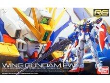 Bandai - RG Gundam XXXG-01W Wing Gundam Colonies Liberation Organization Mobile Suit, Scale: 1/144, 03222