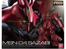 Bandai - RG MSN-04 Sazabi, Mastelis: 1/144, 30363