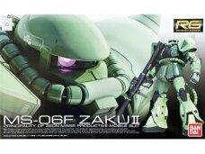 Bandai - RG RG MS-06F Zaku II, Mastelis:1/144, 70388